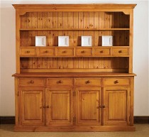 Mottisfont Waxed Large Welsh Dresser