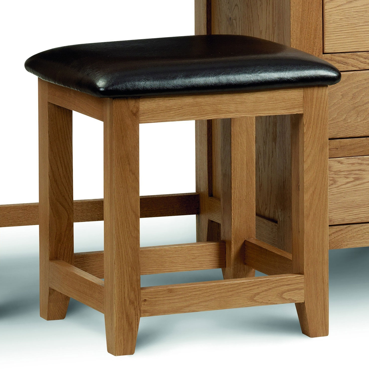 Marlborough oak dressing table stool Dressing tables and stools