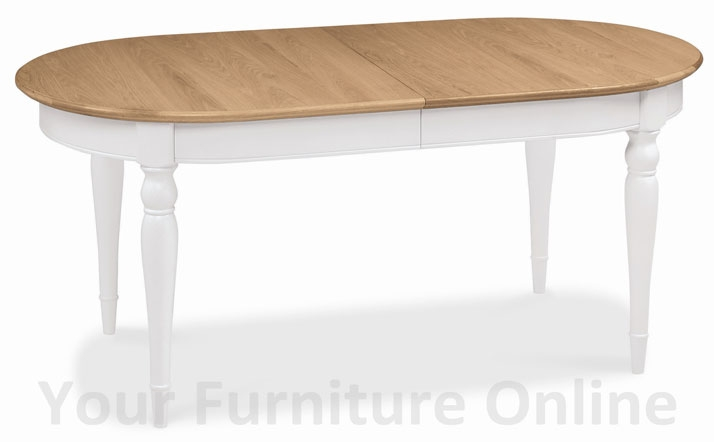 two tone 6 8 seater extension dining table furniture stores