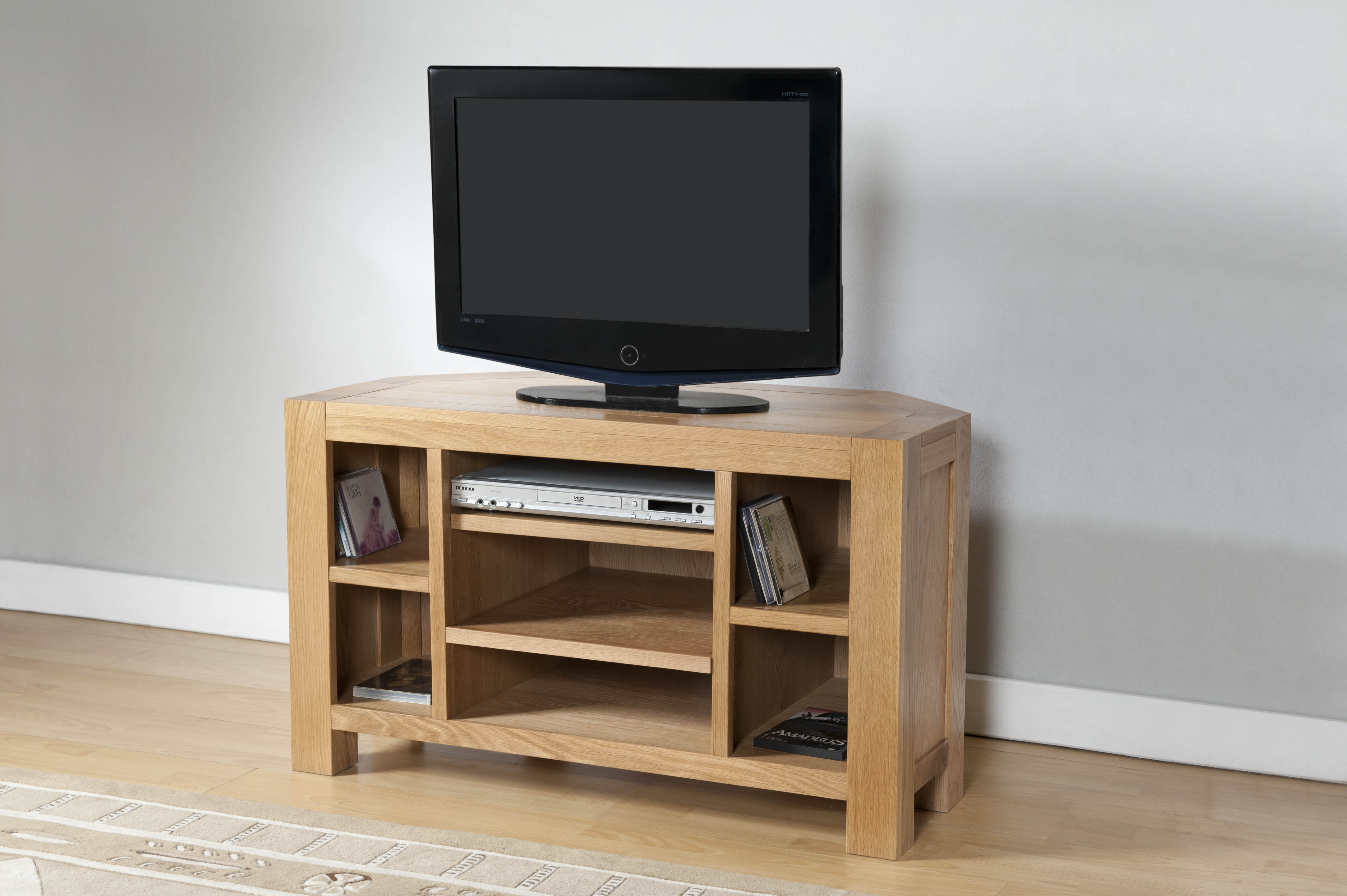 Milano Oak Corner TV Cabinet (Milano Oak TV Cabinet)